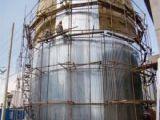 立式罐体铁皮保温施工